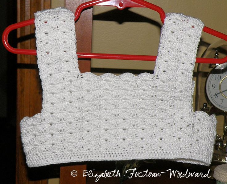 Elizabeth's Crocheted Child's Summer Dress