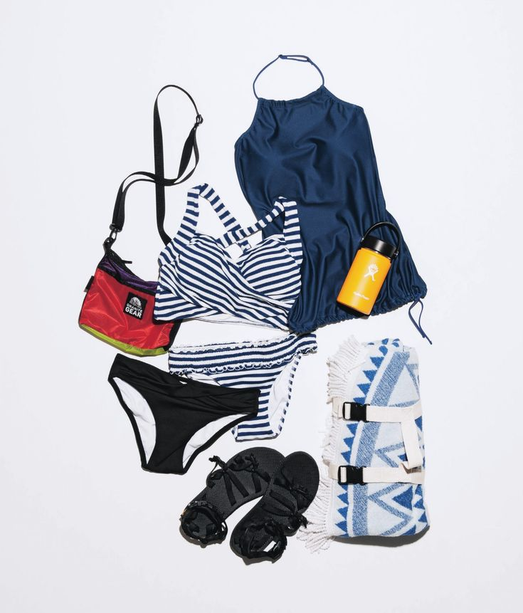 着まわせてオシャレな〝プール水着セット〟発表!