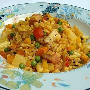 De Kooktips - Gebakken rijst met ananas