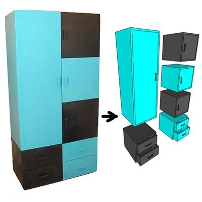 lemari modular