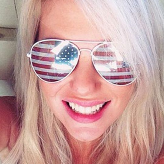 Silver American Flag Sunglasses $6.99 - http://www.pinchingyourpennies.com/silver-american-flag-sunglasses-6-99/ #Eleventhavenue, #Patriotic, #Sunglasses