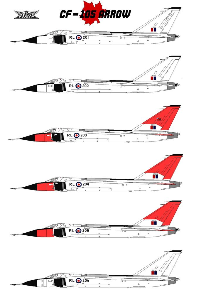 "Built by Avro Canada at it's plant in Malton, Ontario (Just outside of Toronto), the CF-105 ""Arrow"" was the result of an RCAF requirement for an a day or night all weather supersonic jet inter..."