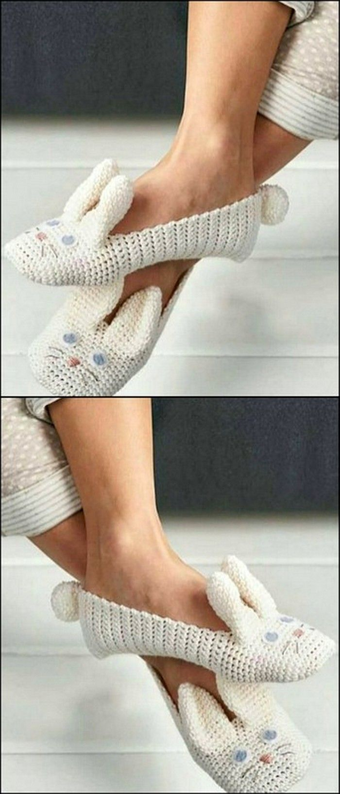 diy Super Easy Crochet Shoes