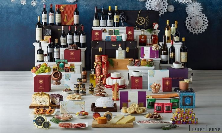 What's Inside The £20,000 Luxurious Harrods Decadence Hamper This Year? Have A Look