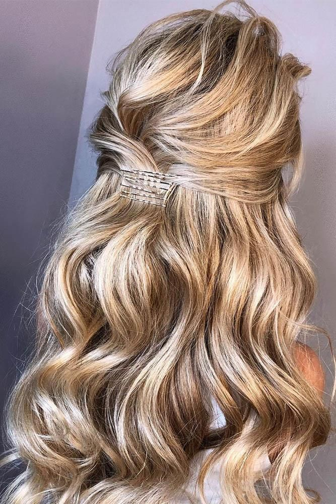 Wedding Guest Hairstyles 42 The Most Beautiful Ideas Wedding Forward Hair Styles Long Hair Styles Guest Hair