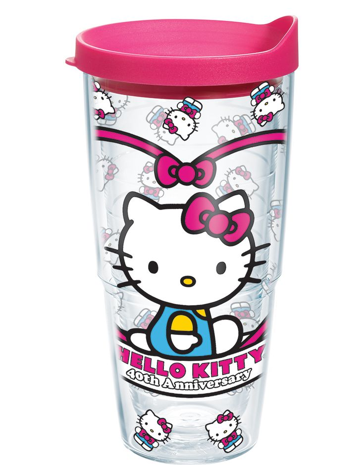 Celebrate Hello Kitty's 40th Anniversary with the new Tervis designs!
