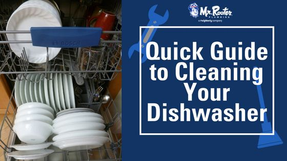 Quick Guide to Cleaning Your Dishwasher While dishwashers are designed to clear the particles, they do need cleaning of their own over time. Thankfully, there's a simple 3-step process to get rid of that dishwasher smell. Here's a dishwasher cleaning guide that will get your appliance back to pristine condition again.