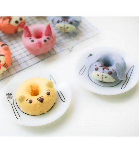 Design culinaire : les donuts se déguisent en Winnie l'ourson et ses amis