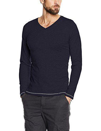 Crewneck Tee with Pocket, T-Shirt Homme, Beige (Ecru Melange 2608), SmallTom Tailor Denim