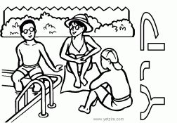 30 best Beach Coloring Pages images on Pinterest