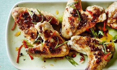 Spicy chicken wings, Hunan, Mr Peng