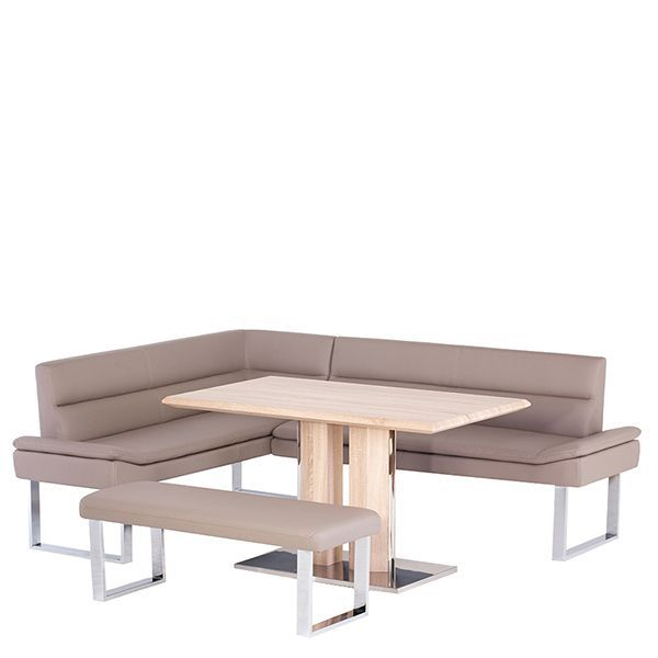 The Elvia Dining Table Amp Bench Will Add A Sleek And