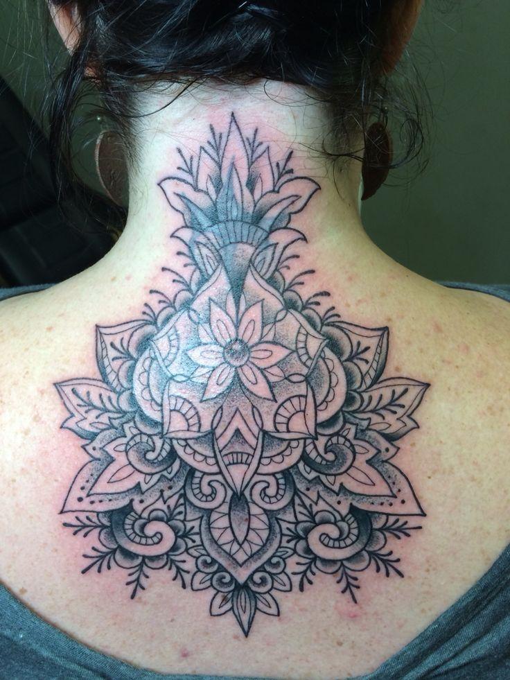Mehndi Nape Tattoo : Plus de id�es � propos tattoos sur pinterest