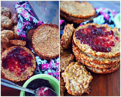 Undressed Skeleton — Banana Flax Crackers - Only 2 Ingredients!