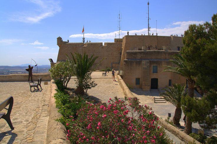 Castle Santa Barbara, Alicante, Spain