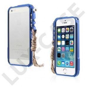 Premium (Blå) iPhone 6 Metal Bumper