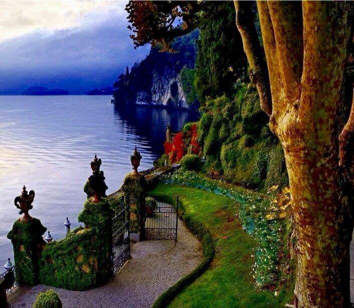 Италия, озеро Комо. Italy, lake Como.