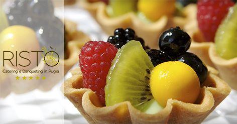 Ogni portata di Ristò Catering e Banqueting è espressione della cura dei particolari. http://bit.ly/1DlSD92 #Puglia
