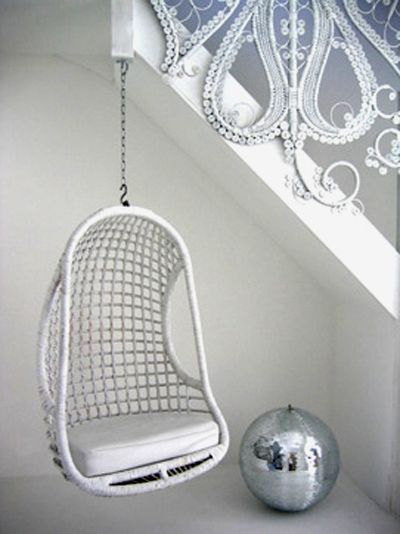 Cool hanging #chair!