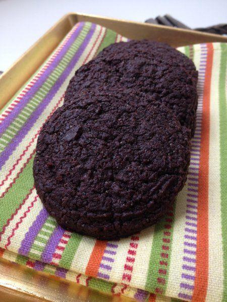 Lenmagos csokoládé keksz - MINDENMENTES