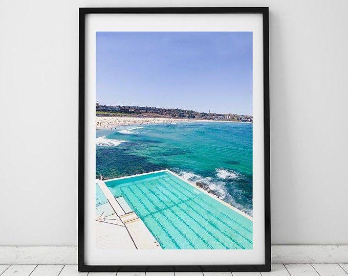 Bondi Icebergs Photographie Impression Imprimable Bondi Art Art