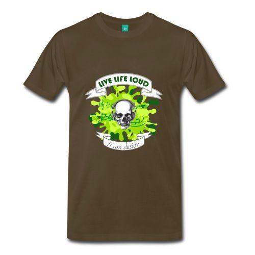 Live Life Loud - Men's Premium T-Shirt