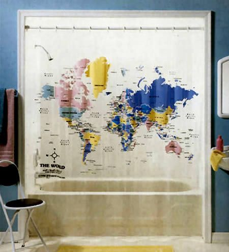 10 Creative Shower Curtains (shower curtains, funny shower curtains) - ODDEE