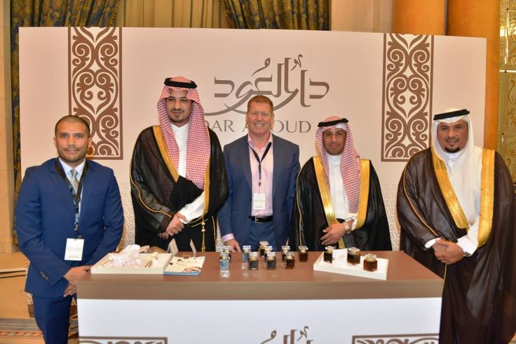 HH Prince Mohammad bin Abdulrahman bin Abdullah Al Faisal with Dar Al Oud & Treedom Group and Ahmad Al Oraij of World Luxury Group