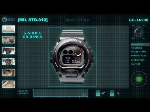 ▶ OFFICIAL VIDEO - G-Shock GD-X6900 MIL STD 810 Testing by NTS - LovinLife Multimedia - YouTube