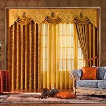 Contemporary Window Curtain Design.