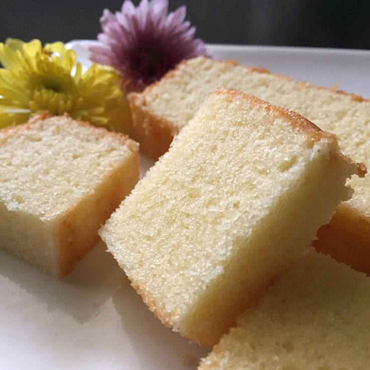 Super Fine Butter Cake Ingredients 113g unsalted butter 100g sugar 3 eggs 120g cake flour (mixed 100g plain flour with 20g corn flour) 2 tablespoons dry powdered milk 1 tablespoon corn syrup (you m…