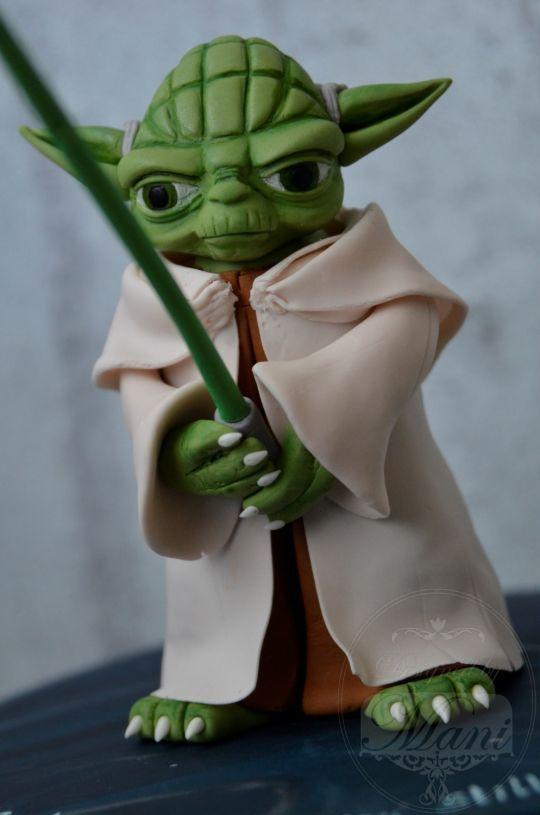 Best 25 Yoda cake ideas on Pinterest