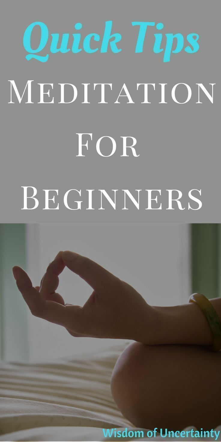 This article provides some helpful meditation practices for beginners. Applying these practices into your daily life will help you build a meditation habit. #meditationforbeginners