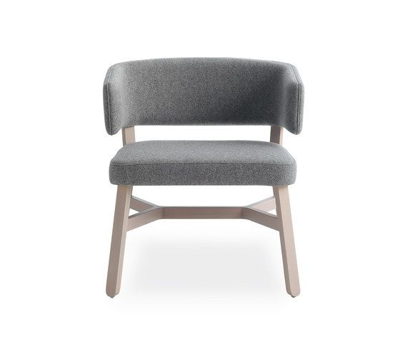Croissant lounge chair by Billiani | Visitors chairs / Side chairs