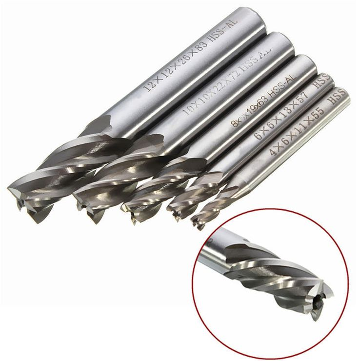 =>>CheapNewest 5pcset Drill Bit HSS CNC Straight Shank 4 Flute End Mill Cutter 4 6 8 10 12mm for Metalworking Power Tools Best PriceNewest 5pcset Drill Bit HSS CNC Straight Shank 4 Flute End Mill Cutter 4 6 8 10 12mm for Metalworking Power Tools Best PriceHello. Here is the best place to order...Cleck Hot Deals >>> http://id291305748.cloudns.ditchyourip.com/32608782716.html images