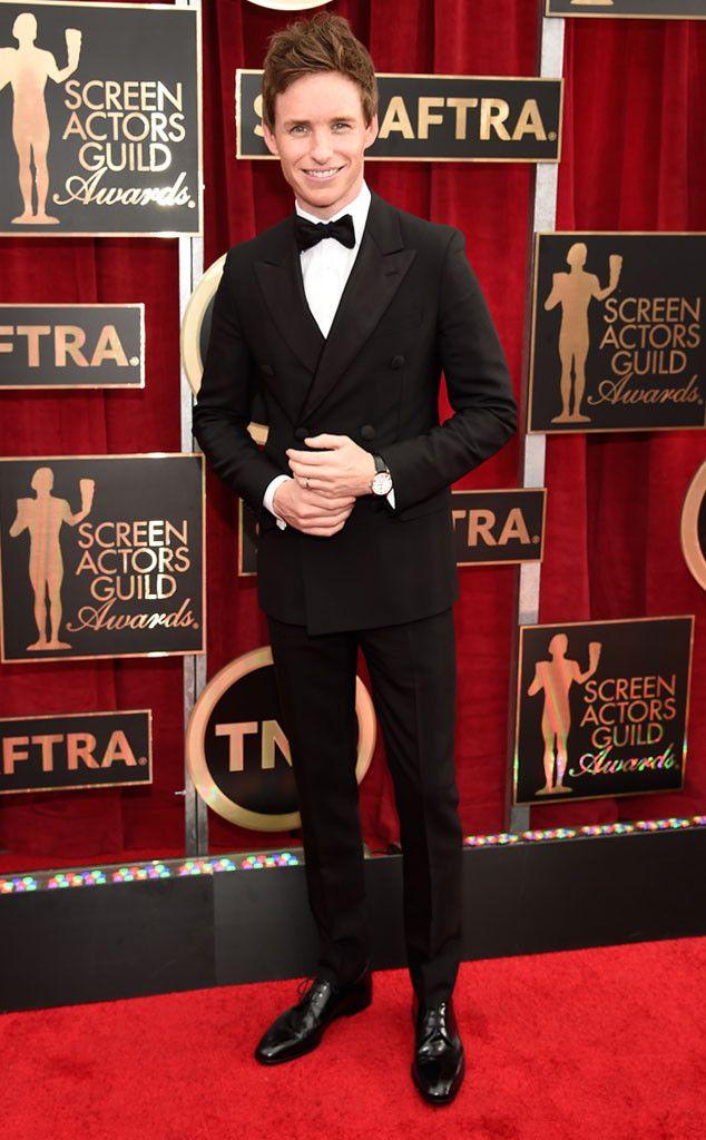 Eddie Redmayne | Prada | SAG Awards