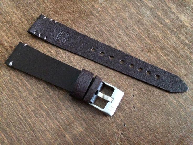 ZVINCA leather watch strap. www.zvinca.ro
