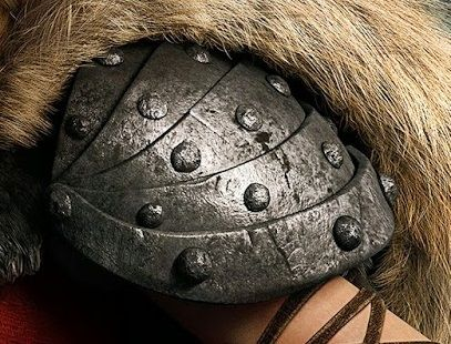 How to make Astrid's shoulder armour (How to Train your Dragon)