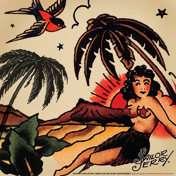 Sailor Jerry art                                                                                                                                                                                 More