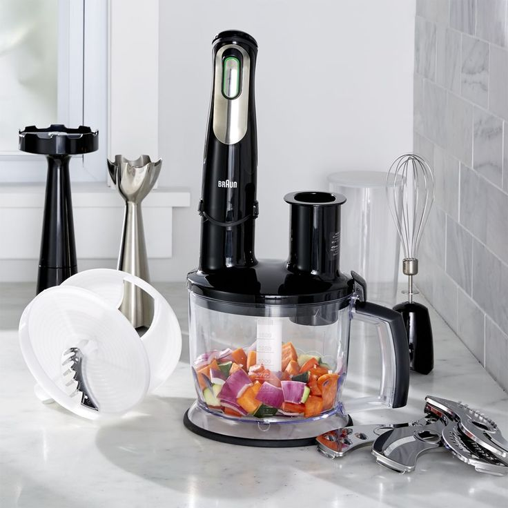 how to use a braun blender