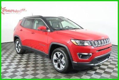 eBay: 2018 Jeep Compass Limited 4WD I4 SUV Sunroof Heated Leather Seats Navigation 2018 Jeep Compass Limited 4WD I4 SUV… #jeep #jeeplife