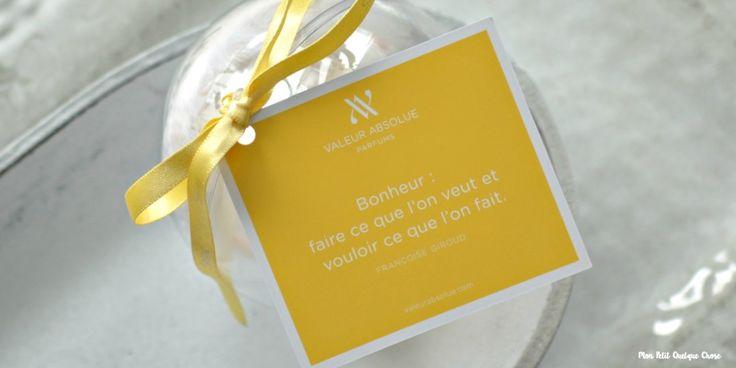 Valeur Absolue et son parfum Joie-Éclat!
