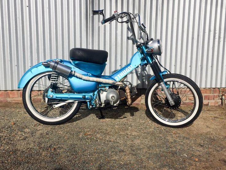 Our latest customers postie bike.