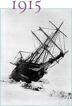 1915 Shackletons Endurance voyage