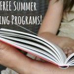 Free Summer Reading Programs!