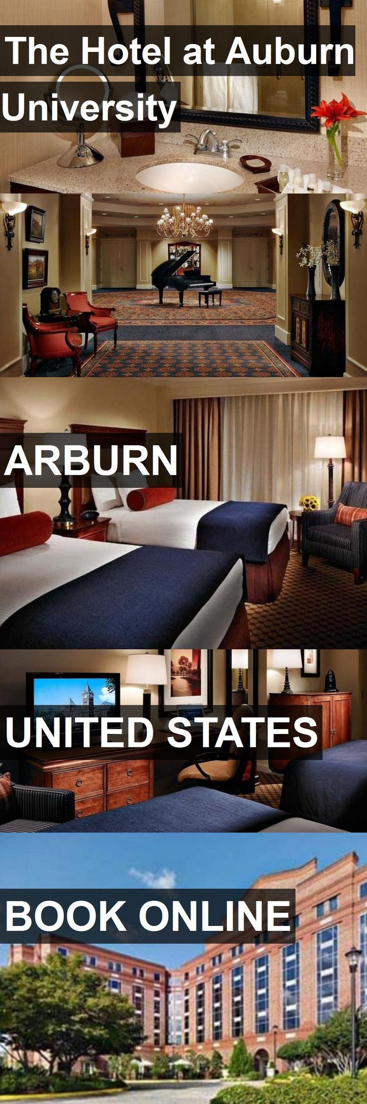 The Hotel at Auburn University in Arburn, United States. For more information, photos, reviews and best prices please follow the link. #UnitedStates #Arburn #travel #vacation #hotel