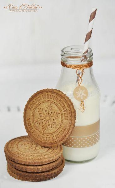 Personalisierter Keksstempel Schneeflocke