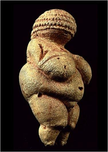Виллендорфская Венера. 24-22 тыс. лет назад.