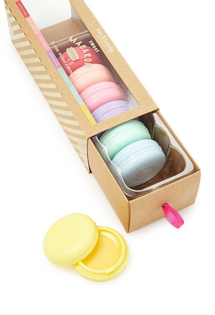 Macaron Lip Gloss Set