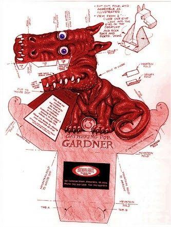 Dragao gardner vermelho
